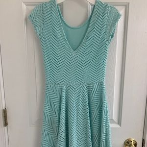 Mint green Aeropostale dress